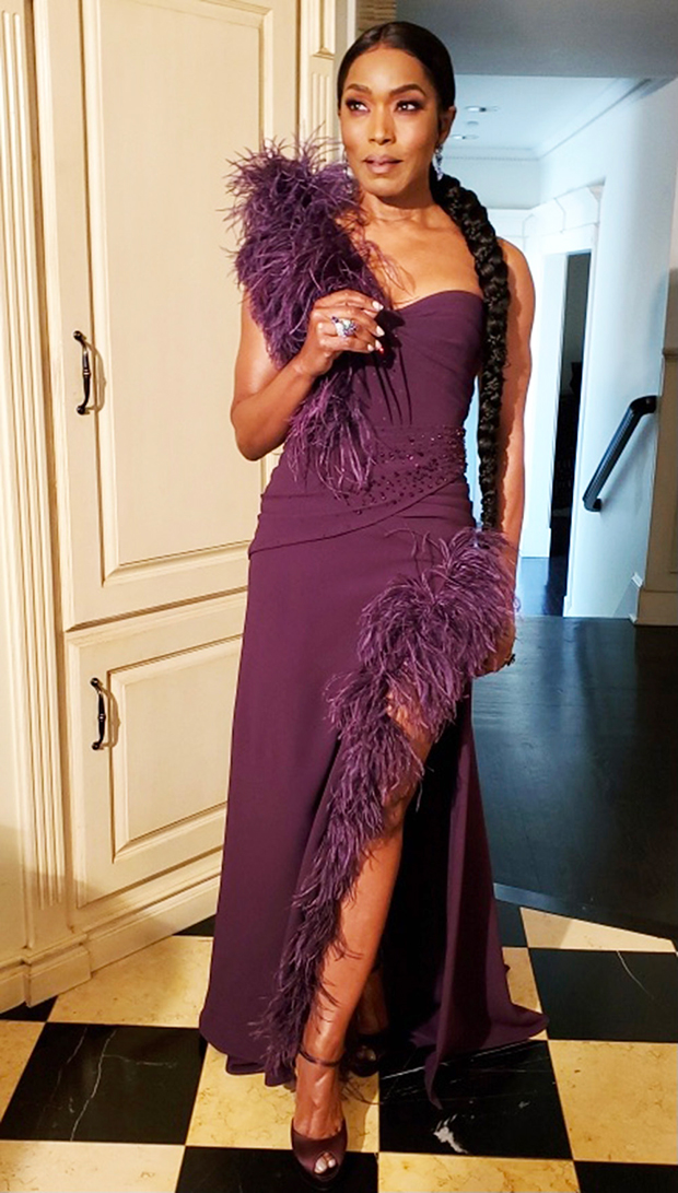 angela bassett golden globes 2021