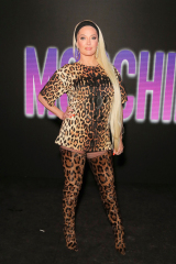 Erika Jayne Moschino x The Sims Party, Coachella Valley Music and Arts Festival, Weekend 1, Day 2, Indio, USA - 13 aprile 2019 Wearing Moschino