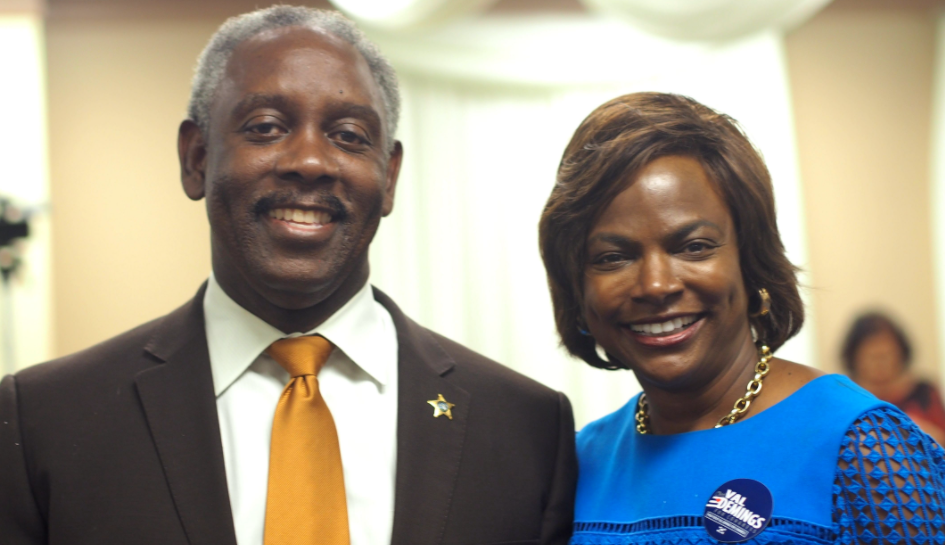 Jerry e Val Demings