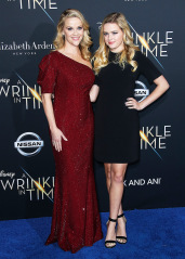 Reese Witherspoon, Ava Phillippe 'A Wrinkle in Time' premiere del film, arrivi, Los Angeles, Stati Uniti d'America - 26 Feb 2018