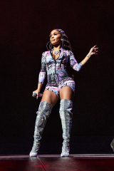 Saweetie visto al Bankers Life Fieldhouse, a Indianapolis Cardi B in Concert - , Indianapolis, USA - 11 set 2019