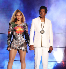 Beyonce Knowles, Jay ZBeyonce e Jay-Z in concerto, 'On The Run II Tour', Buffalo, USA - 18 agosto 2018