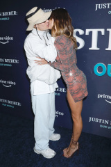 Justin Bieber e Hailey Bieber JUSTIN BIEBER, OUR WORLD - NY Special Screening Event, New York, USA - 14 settembre 2021
