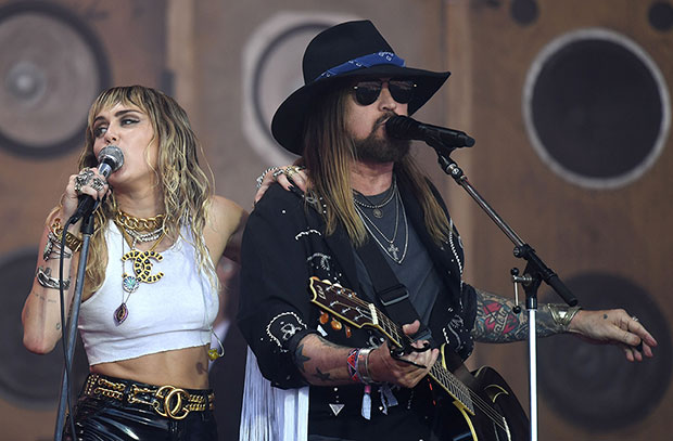 Billy Ray Cyrus e Miley