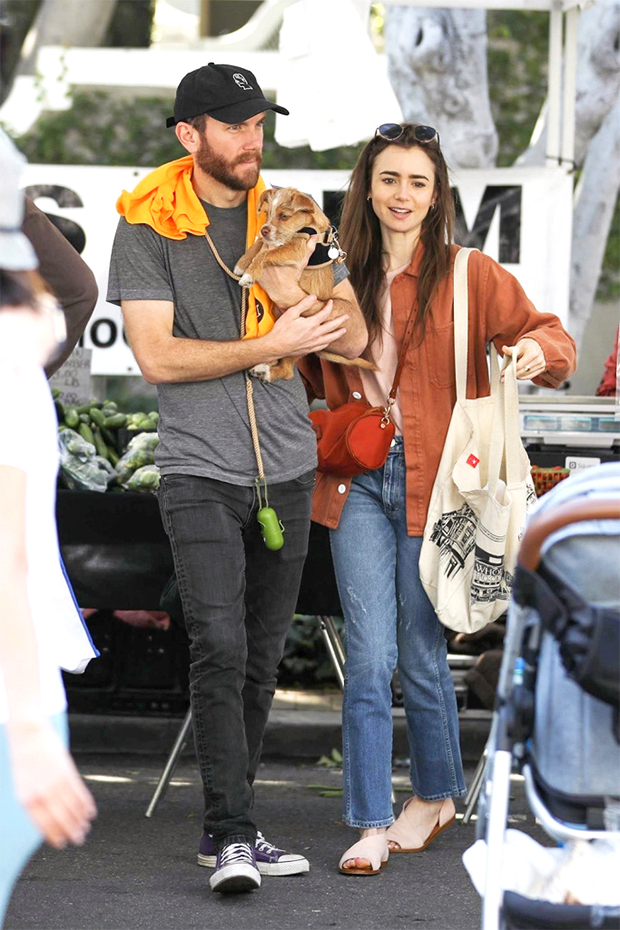 Charlie McDowell e Lily Collins